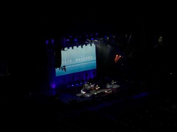 The O2 Arena, vak: 407, rij: N, stoel: 597