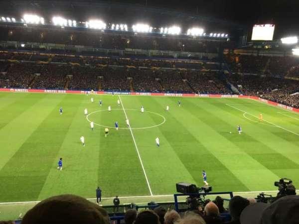 Stamford Bridge, vak: East Upper, rij: 7, stoel: 102