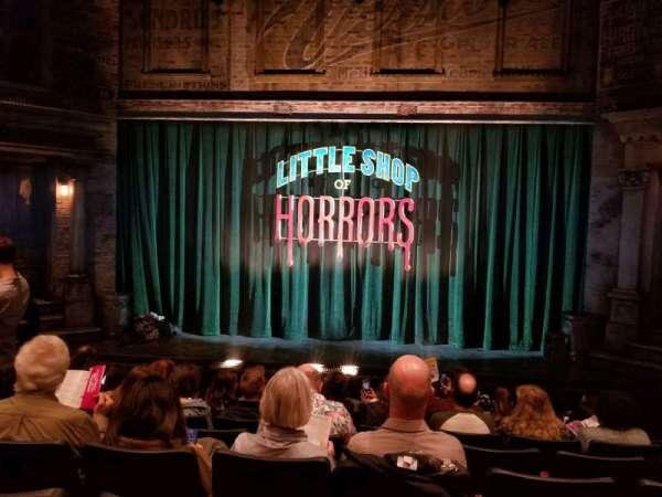 Westside Theatre, vak: orchestra, rij: H, stoel: 105