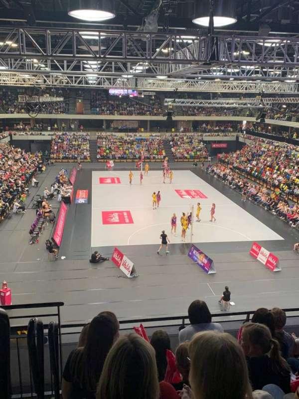 Copper Box Arena, vak: 208, rij: 16, stoel: 69