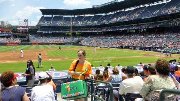 Turner Field, vak: 114L, rij: 13, stoel: 101
