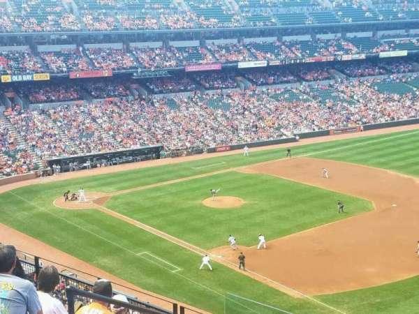 Oriole Park at Camden Yards, vak: 310, rij: 7, stoel: 16