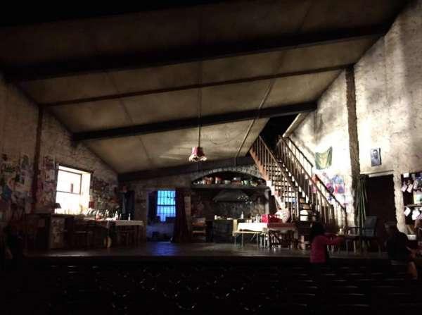 Bernard B. Jacobs Theatre, vak: Orchestra Center, rij: J, stoel: 109