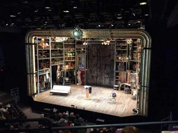 Laura Pels Theatre, vak: Rear Mezzanine Right, rij: CC, stoel: 2