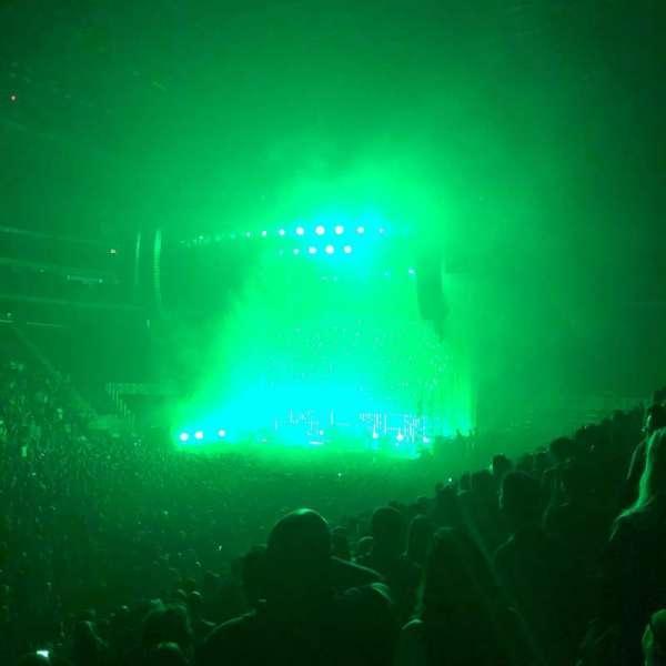 Little Caesars Arena, vak: 112, rij: 11, stoel: 1