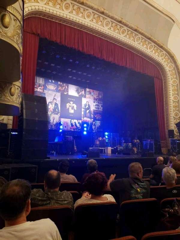 Palace Theatre (Greensburg), vak: ORCH, rij: F, stoel: 8