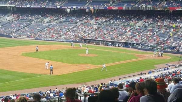 Turner Field, vak: 224, rij: 15, stoel: 110