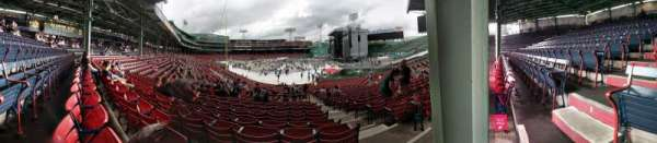 Fenway Park, vak: Right Field Box 90, rij: XX, stoel: 1