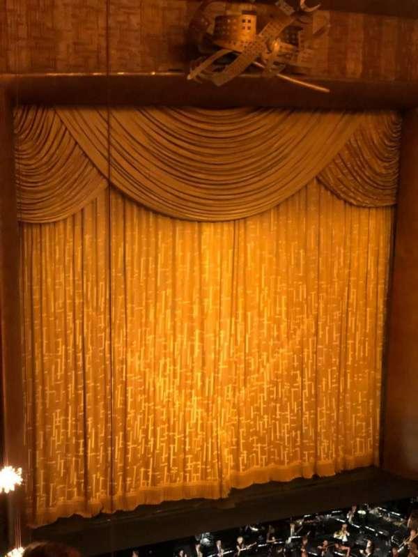 Metropolitan Opera House - Lincoln Center, vak: Balcony, rij: D, stoel: 25
