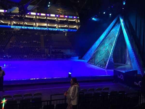The O2 Arena, vak: 111, rij: F, stoel: 359