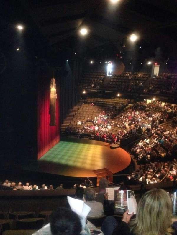 Stratford Festival, vak: Balcony aisle 2, rij: F, stoel: 166
