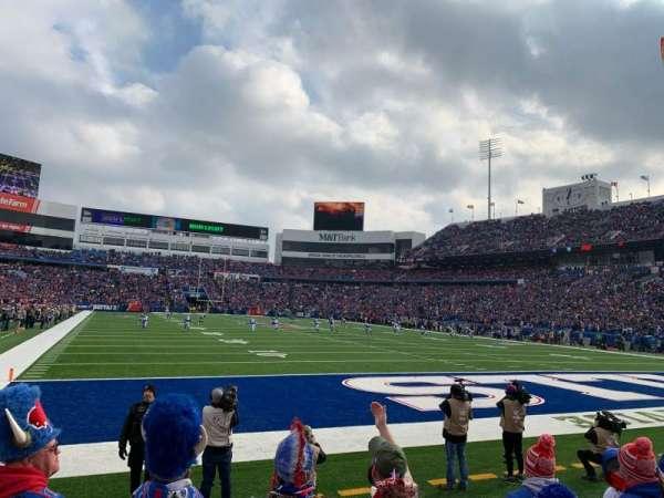 New Era Field, vak: 103, rij: 5, stoel: 4