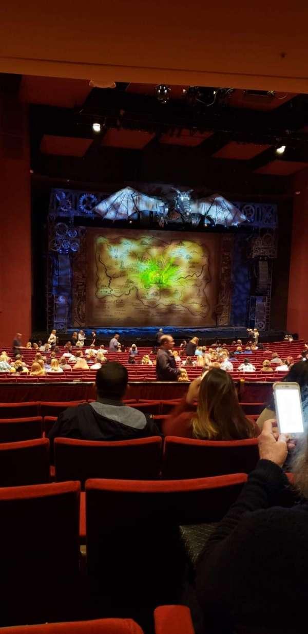 San Diego Civic Theatre, vak: DRESL4, rij: G, stoel: 37