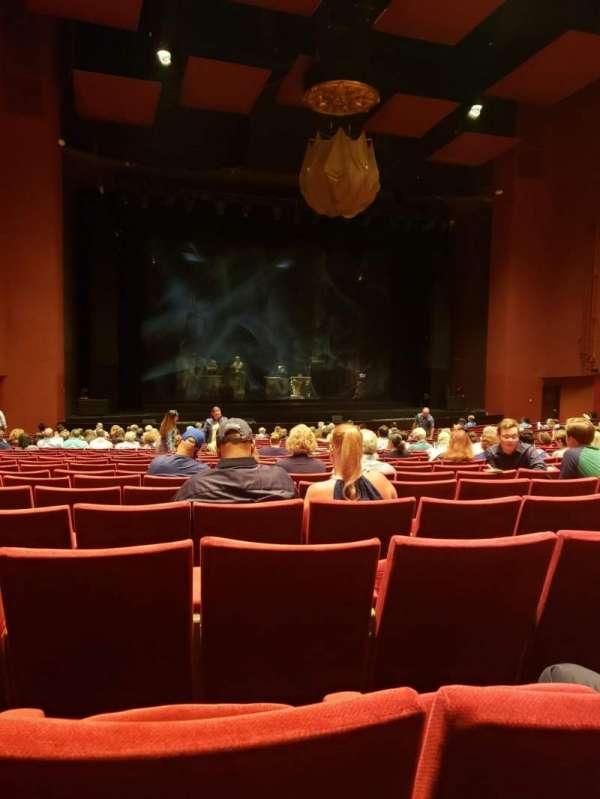 San Diego Civic Theatre, vak: ORCHL3, rij: V, stoel: 33