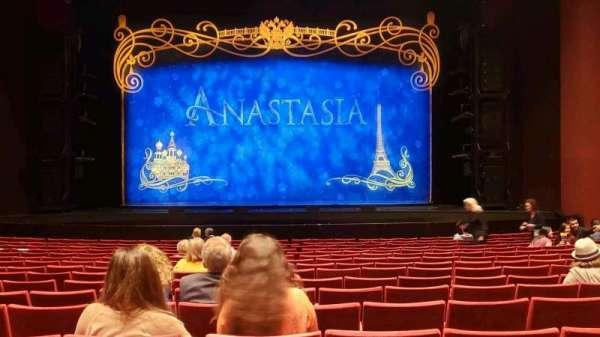 San Diego Civic Theatre, vak: Orchestra, rij: O, stoel: 6