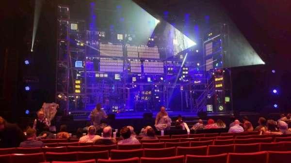 San Diego Civic Theatre, vak: Orchestra 1, rij: G, stoel: 21