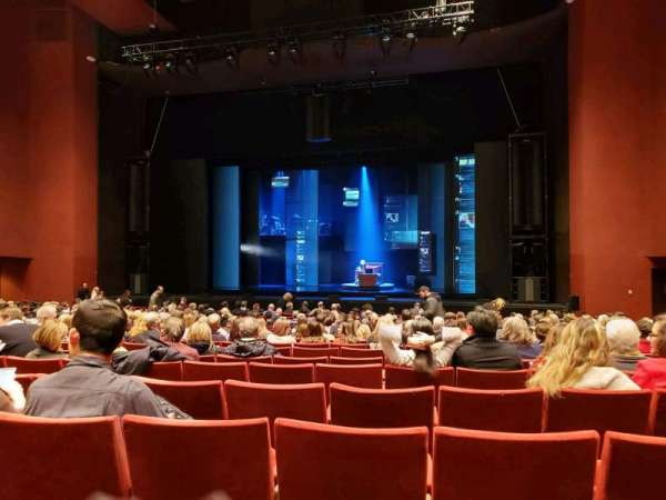 San Diego Civic Theatre, vak: Orchestra, rij: O, stoel: 24