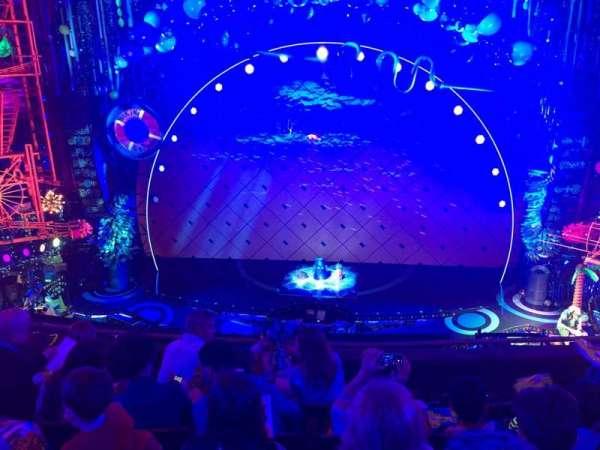 Palace Theatre (Broadway), vak: Mezz center, rij: D, stoel: 108