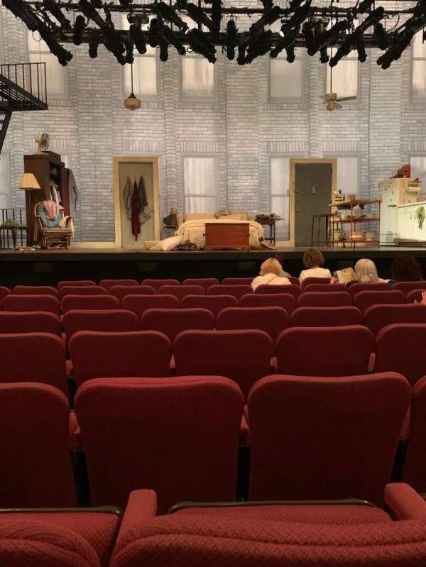 Broadhurst Theatre, vak: Orch, rij: G, stoel: 107