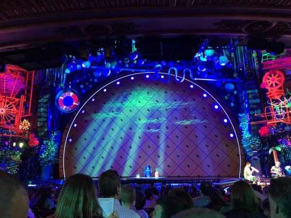 Palace Theatre (Broadway), vak: Orchestra Center, rij: Q, stoel: 104
