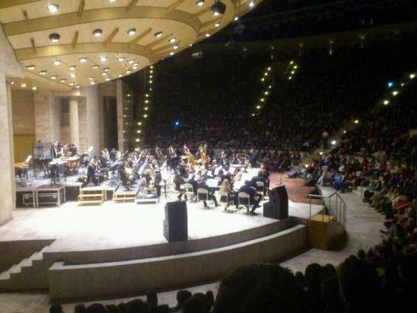 Bilkent Odeon, vak: Ciftler/A, rij: H-71, stoel: 8