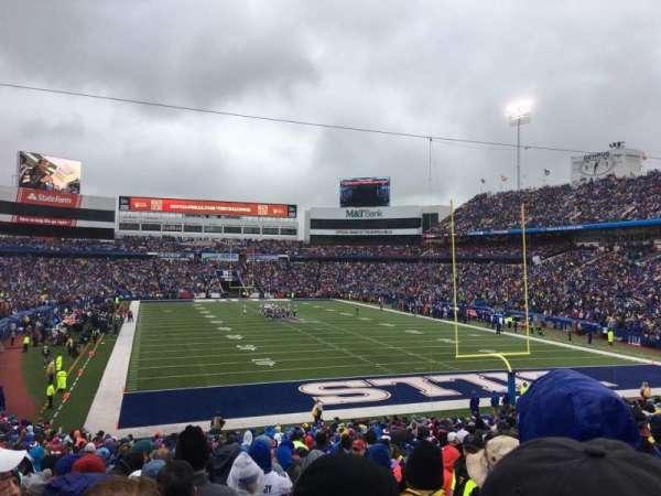 New Era Field, vak: 103, rij: 33, stoel: 4