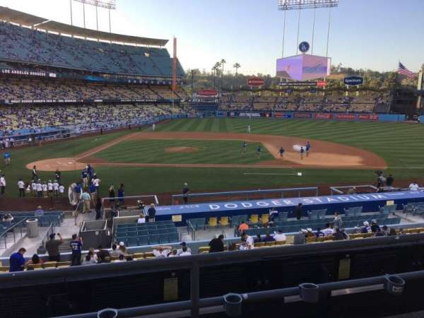 Dodger Stadium, vak: 128LG, rij: C, stoel: 7