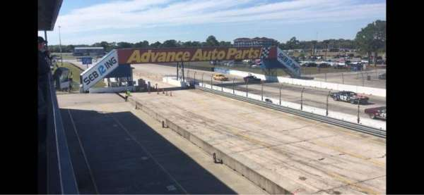 Sebring International Raceway, vak: Fangio Terrace