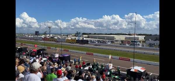 Indy Car Road Coarse St. Petersburg, vak: Grand Stand 7, rij: 25