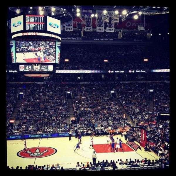 Scotiabank Arena, vak: 108, rij: 24, stoel: 6