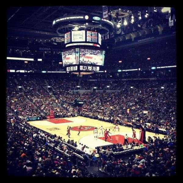 Scotiabank Arena, vak: 116, rij: 24, stoel: 1