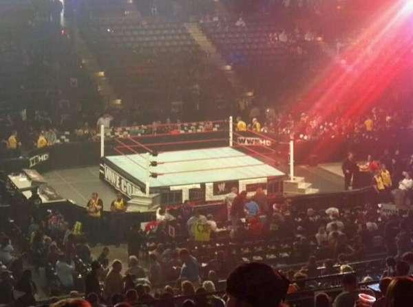 Royal Farms Arena, vak: 214, rij: N, stoel: 8