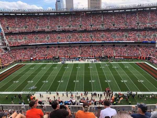FirstEnergy Stadium, vak: 534, rij: 7, stoel: 8