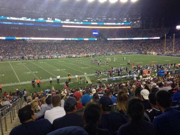 Gillette Stadium, vak: 112, rij: 30, stoel: 22