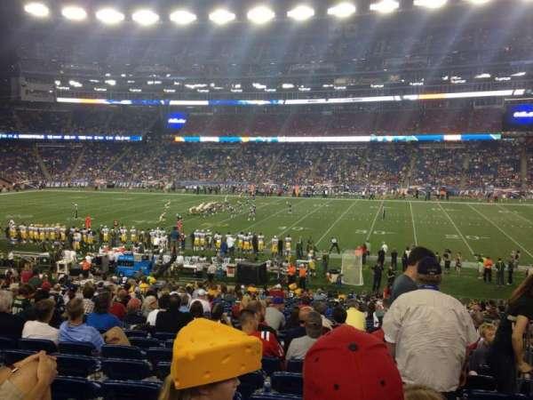 Gillette Stadium, vak: 130, rij: 28, stoel: 5