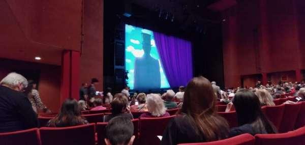 San Diego Civic Theatre, vak: Orchestra, rij: H, stoel: 51