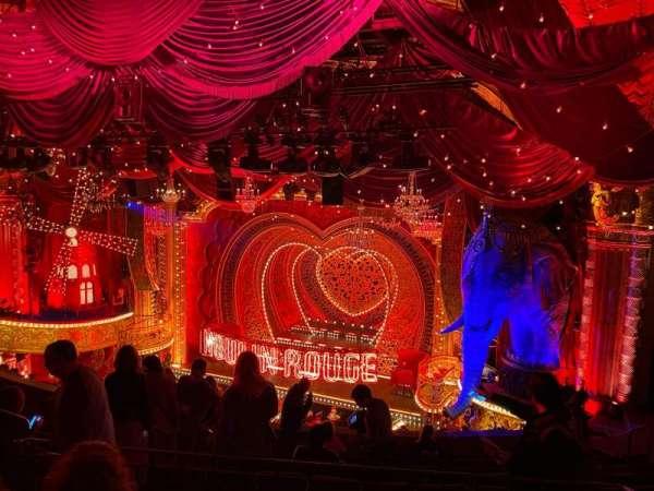 Al Hirschfeld Theatre, vak: Mezzanine R, rij: K, stoel: 14