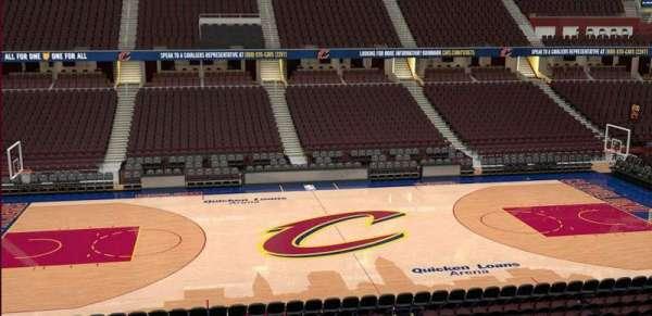 Quicken Loans Arena, vak: C108