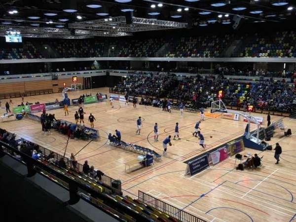 Copper Box Arena, vak: 202, rij: 12, stoel: 23