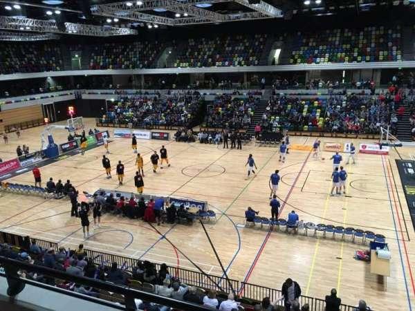 Copper Box Arena, vak: 203, rij: 12, stoel: 56