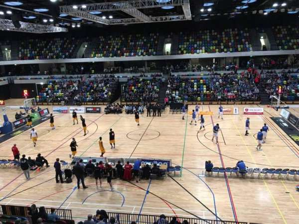 Copper Box Arena, vak: 204, rij: 12, stoel: 68