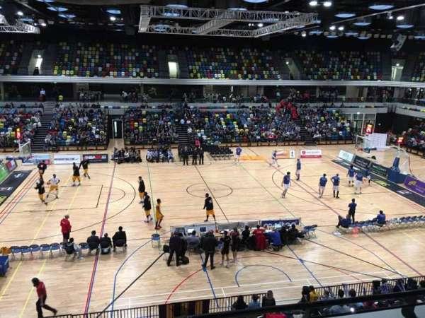 Copper Box Arena, vak: 204, rij: 13, stoel: 90