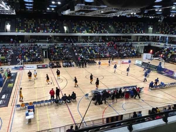 Copper Box Arena, vak: 205, rij: 13, stoel: 101