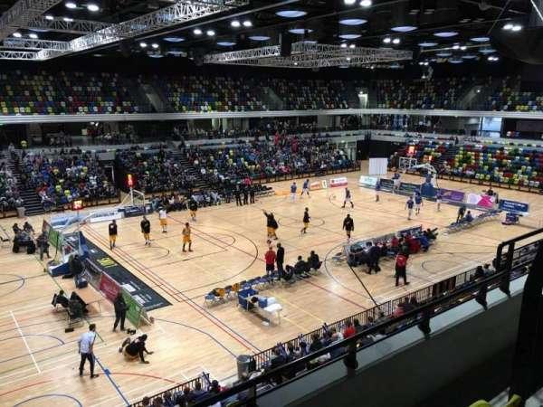 Copper Box Arena, vak: 205, rij: 13, stoel: 125