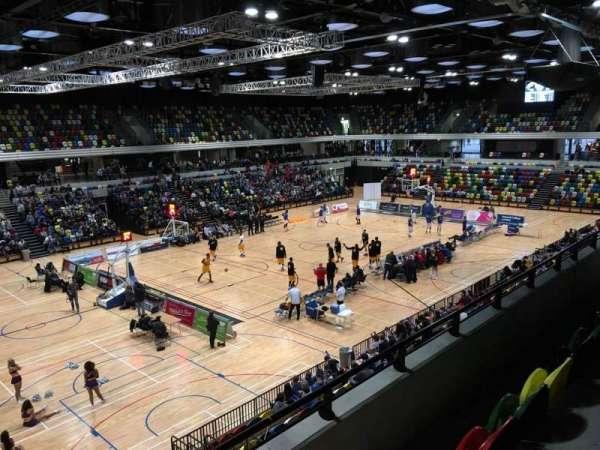 Copper Box Arena, vak: 206, rij: 13, stoel: 138