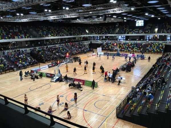 Copper Box Arena, vak: 206, rij: 12, stoel: 15