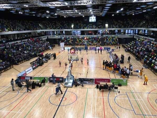 Copper Box Arena, vak: 207, rij: 12, stoel: 47