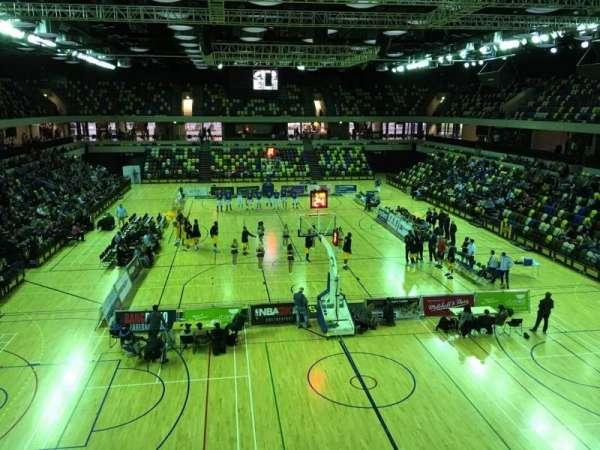Copper Box Arena, vak: 208, rij: 13, stoel: 64