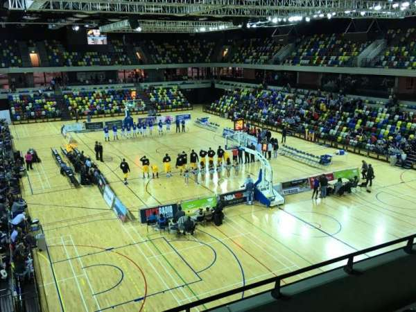 Copper Box Arena, vak: 208, rij: 14, stoel: 85