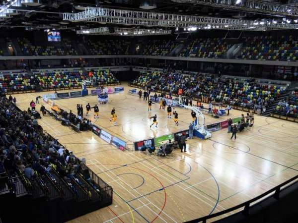 Copper Box Arena, vak: 209, rij: 15, stoel: 99
